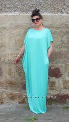 платье в пол большие размеры