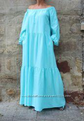 платье макси платье в пол