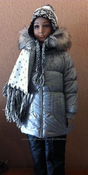 Войчик, Польша, термо, комплект, куртка, девочка, зима, р, 92-122