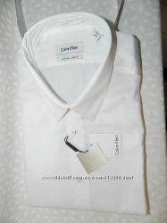 Рубашка Calvin Klein для мужчин в наличии на подарок сорочка класcика Киев
