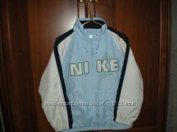 Кофта-ветровка  спортивная на сетчатой подкладке Nike, р 116-122