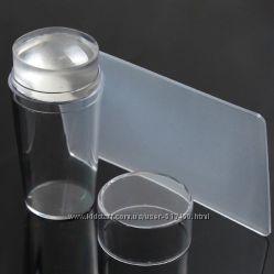 прозрачный силиконовый мягчайший штамп