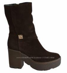ботинки замша р. 36-40