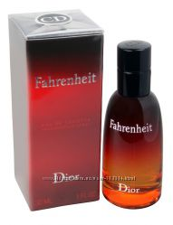 Christian Dior Fahrenheit и другие Парфюмерия оригиинал