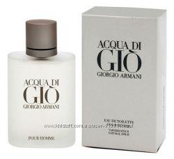 Giorgio Armani Acqua di Gio Man и другие Парфюмерия оригинал