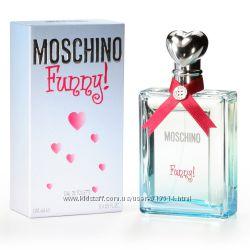 Moschino Funny Cheap & Chic I love love и другие Парфюмерия оригинал
