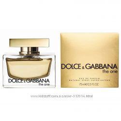 Dolce&Gabbana The One все виды Парфюмерия оригинал