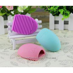 Brushegg силиконовое яйцо для мытья косметических кистей