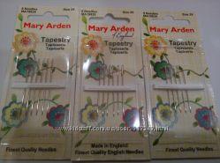 Иглы для вышивания Mary Arden, Англия, в наличии