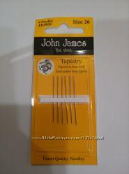 Иглы для вышивания John James, Англия