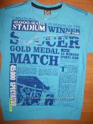 футболки для мальчиковсм от 104 см до 176  турция