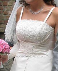 Свадебное платье р. 46-48, рост 170-175