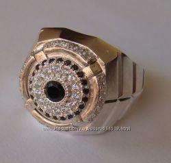 Кольцо 3132Г, серебро 925 пробы, кубический цирконий, распродажа.
