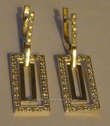 Серьги 28890ММ, серебро 925 пробы, распродажа.