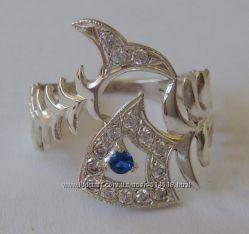Кольцо 102370ЮМ, серебро 925 пробы, распродажа.