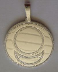 Подвес знак АллатРа, серебро 925 пробы