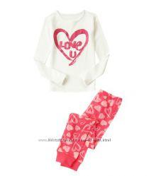 Пижамы для девочек crazy8 в наличии 3-7лет
