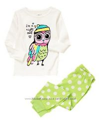 Пижамы Сrazy8 для девочек 2- 6 лет