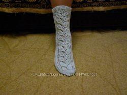Носки вязанные ажурные широкий ассортимент