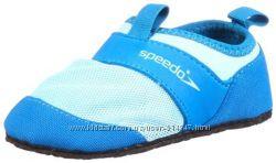 Крутые Speedo обувка для бассейна Р-р US10 на 14-16 см Шапочка в подарок