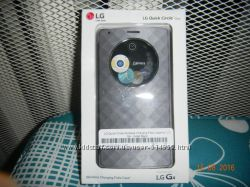 Официальный чехол для LG G4 Quick Circle Case Wireless Charging  CFR-100