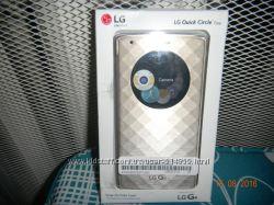 Официальный чехол для LG G4 Quick Circle Case  CFV-100 Gold, Gray
