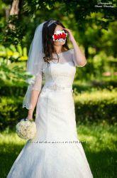 свадебное платье от Оксаны Мухи размер 42-44