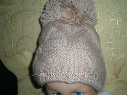 теплая шапочка на травке