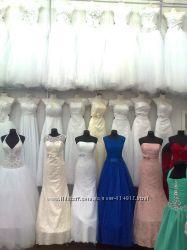 Свадебные платья, перчатки, фата, выпускные платья, короткое, длинное, модные.