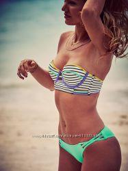 Купальники Victorias Secret Midi Beach Bandeau 32А 32B 34А Оригинал