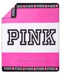 Мягкий плюшевый плед Victorias Secret Pink Оригинал 2 цвета