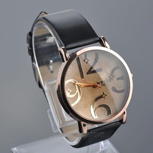 Часы люкс женские кварцевые кожаный ремень модель 2015