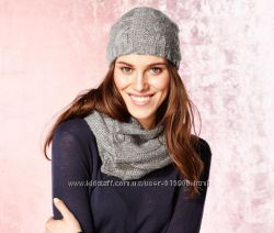 Шапка и шарф, набор от ТСМ Чибо Германия
