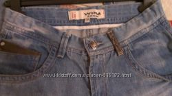модные джинсы унисекс 11-13лет