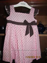 Сарафаны и платья для девочки 12-24м.