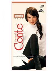 Тёплые колготки Conte Cotton. Triumf