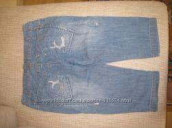 Продам джинсовые бриджи, приблезительно36р