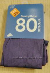 Колготы фиолетовые  NUR DIE 80den, размеры S, M, L