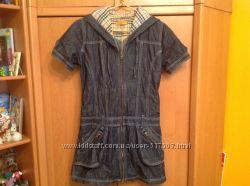 Платье  джинц  фирмы . Юнкер