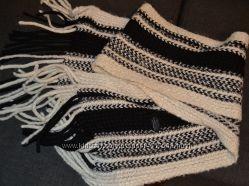 Тёплый шарф зима