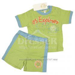 Костюм из нежного хлопка шорты и футболка Iana Италия