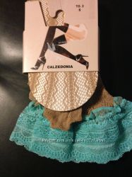 Ажурные летние чулки и колготки Calzedonia на силиконе