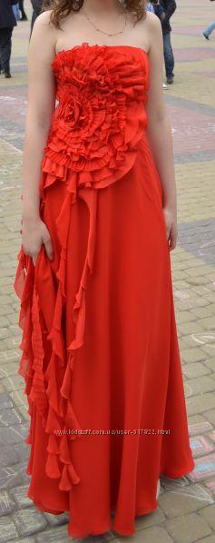 Выпускное платье випускна сукня модного дома Papilio