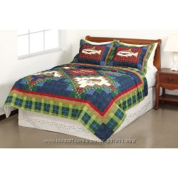 Mainstays Quilt Collection стеганное одеяло с Амазона