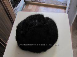 Зимняя шапка из нутрии