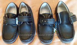 новые туфли, мокасины для мальчика, р-ры 27, 29, 30