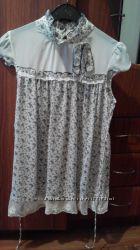 Блузка з кружевом