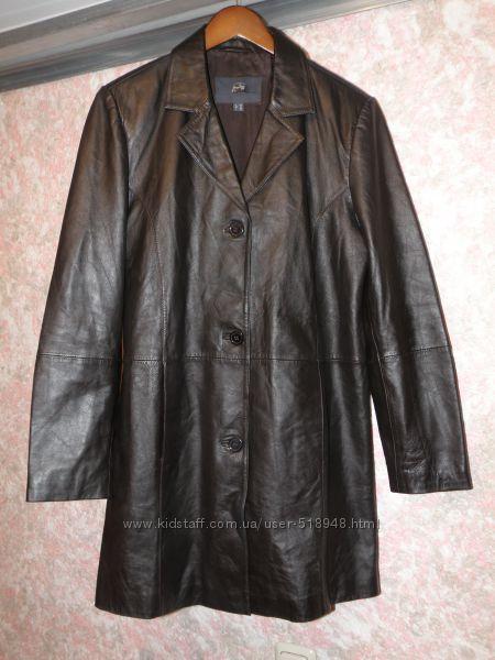 Плащ-пиджак новый кожа наппа р. 46-48 укр. Tchibo