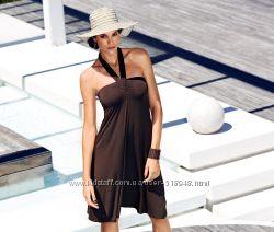 Платье-юбка варио TCM Tchibo  коричневое р. 42-44 укр.