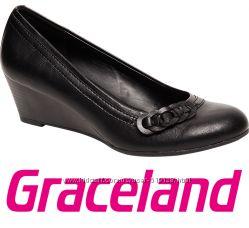 Туфли женские на танкетке Graceland 36р Германия